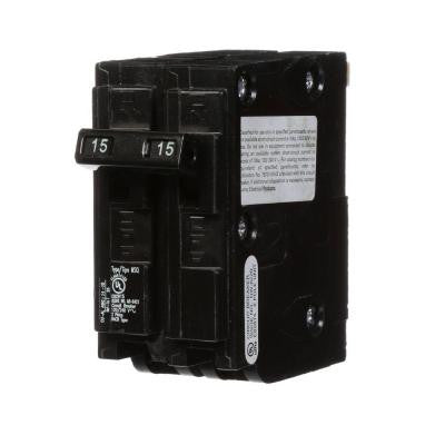 15 Amp Double-Pole Type MSQ QO Replacement Circuit Breaker