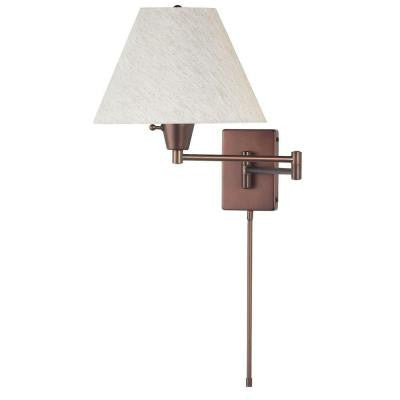 Althea 1-Light Oil-Brushed Bronze Wall Lamp