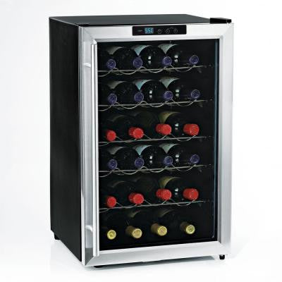 Silent 28-Bottle Single Zone Wine Cooler