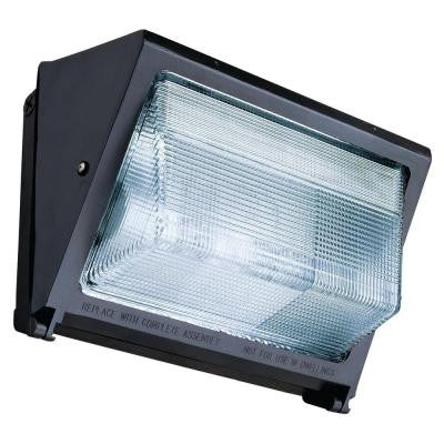 150-Watt Outdoor Bronze Metal Halide Wall Pack