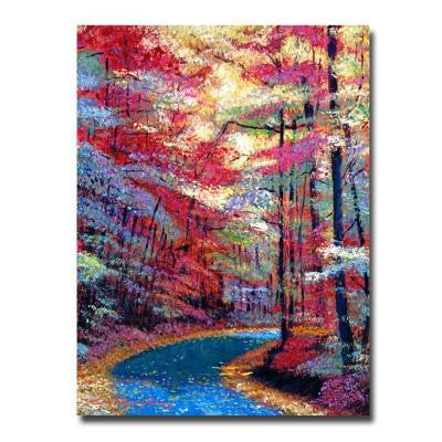 24 in. x 32 in. September Impressions Canvas Art
