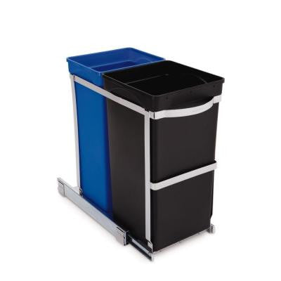 35 l Pull-Out Recycler Trash Can