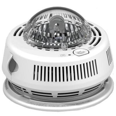 BRK Photo-Electric Hardwired Smoke Detector with Strobe Light Alarm