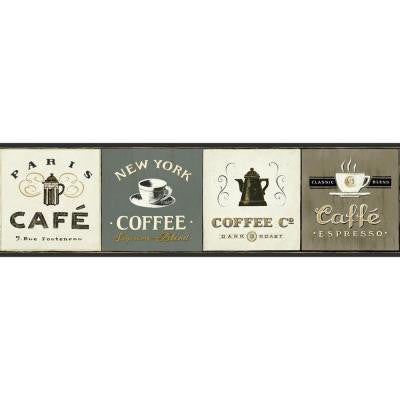 6.75 in. American Classics Coffee Signs Border