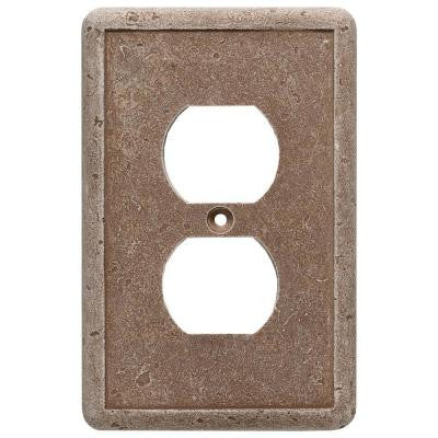 1 Duplex Outlet Wall Plate - Noche