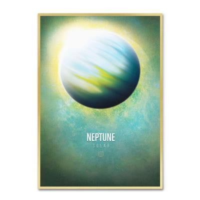 22 in. x 32 in. Neptune Canvas Art