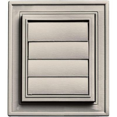 Square Exhaust Siding Vent #048-Almond