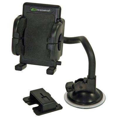 Mobile Grip-iT Rotating Windshield Mount for GPS - Black