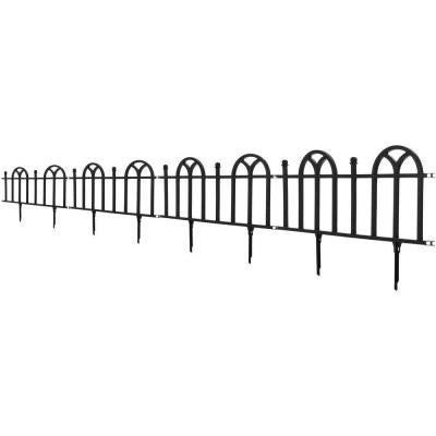 12.75 in. Victorian Garden Border Fencing Set