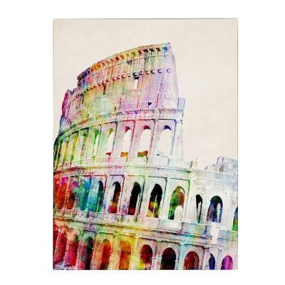 24 in. x 18 in. Colosseum Canvas Art