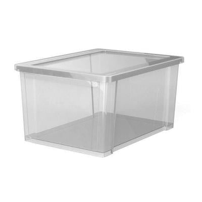 11 Qt. 13.9 in. L x 9.9 in. W x 7.4 in. H Access Extra Small Storage Box in Clear