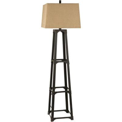 Alstead 63 in. Bronze Floor Lamp