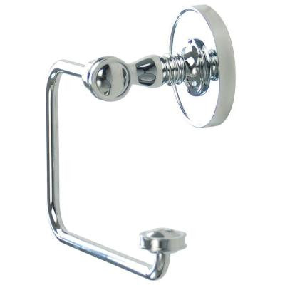 Sara Single Post Toilet Paper Holder in Polished Chrome