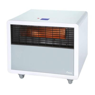 1500-Watt Digital Infrared Heater with Wi-Fi Phone App - White