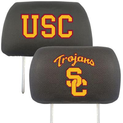 NCAA -University of Southern California Head Rest Cover (2-Pack)