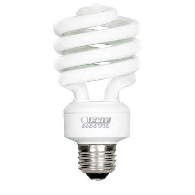 100W Equivalent Soft White (2700K) Spiral Tuff Kote CFL Light Bulb (12-Pack)