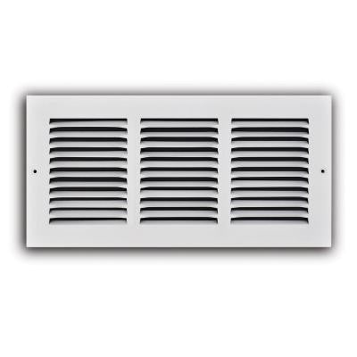 14 in. x 6 in. White Return Air Grille
