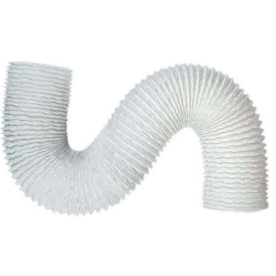 4 in. x 20 ft. Standard White Vinyl Flexible Hose