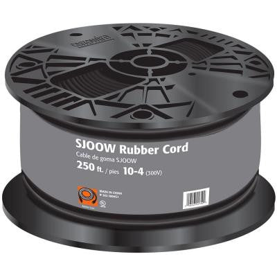 250 ft. 10-Gauge 4 Conductor Portable Power SJOOW Cord