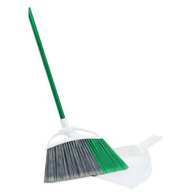 Extra Large Precision Angle Broom with Free Dust Pan