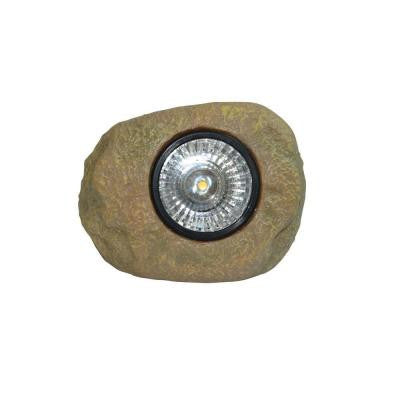 Outdoor Clear LED Solar Rock Light