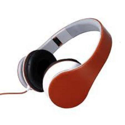 Foldable Stereo Headphones - Red