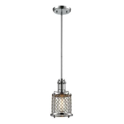 Exeter Collection 1-Light Polished Chrome Mini Pendant