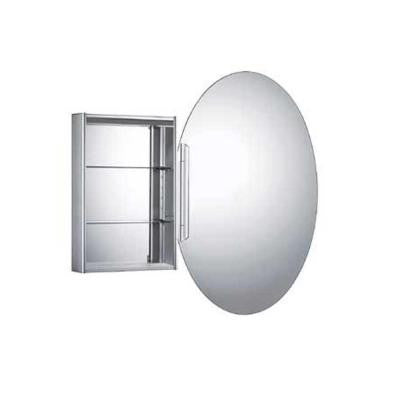 Medicinehaus 23-5/8 in. x 32 in. Mirrored Surface-Mount Medicine Cabinet in Aluminum