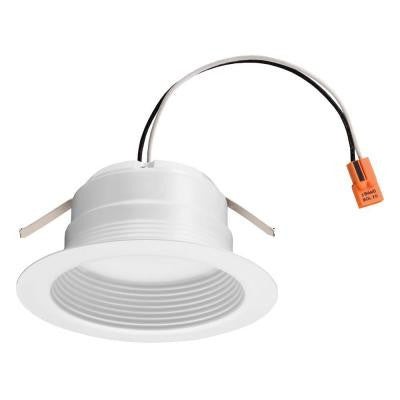 4 in. Matte White Baffle LED Module