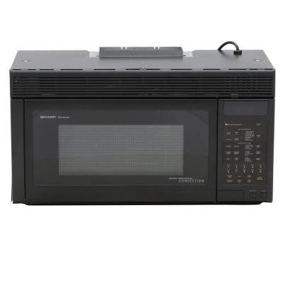 1.1 cu. ft. 850-Watt Over the Range Convection Microwave Oven in Black