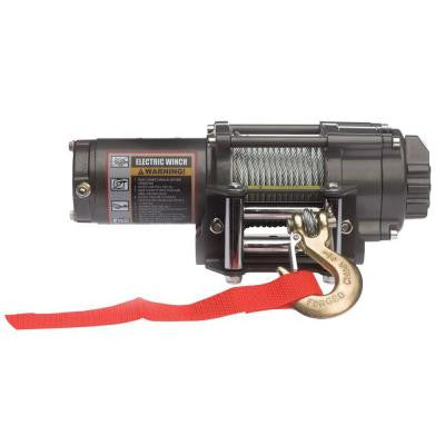 2,500 lb. Capacity 12-Volt Electric Winch with 46 ft. Steel Cable