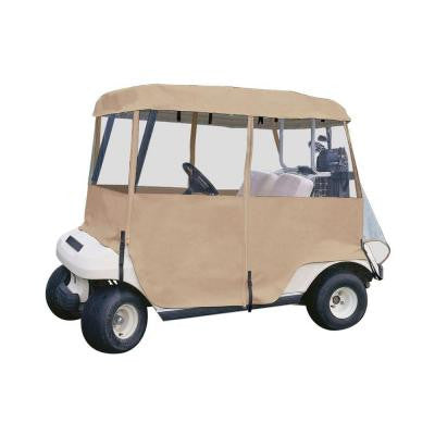 Deluxe 4-Sided Golf Car Enclosure, 4-Person