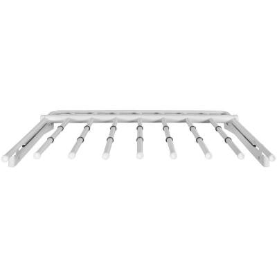 Configurations Slide-out Pants Rack in White