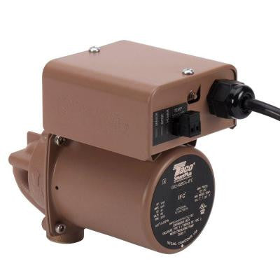 SmartPlus 003 1/40 HP Non-Submersible Hot Water Recirculation Pump in Bronze with 1/2 in. Sweat Connection
