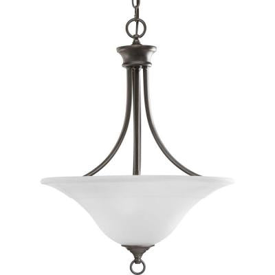 Trinity Collection 3-Light Antique Bronze Foyer Pendant