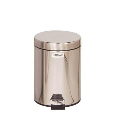 Medi-Can 1.5 Gal. Stainless Steel Step-On Medical Trash Can