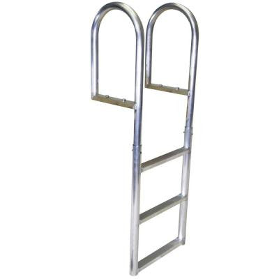 3-Step Standard Rung Aluminum Dock Ladder