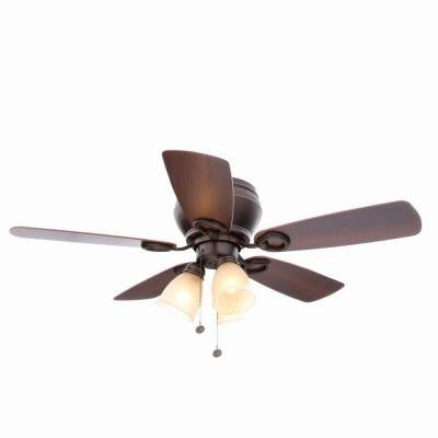Whitlock 44 in. Mediterranean Bronze Ceiling Fan