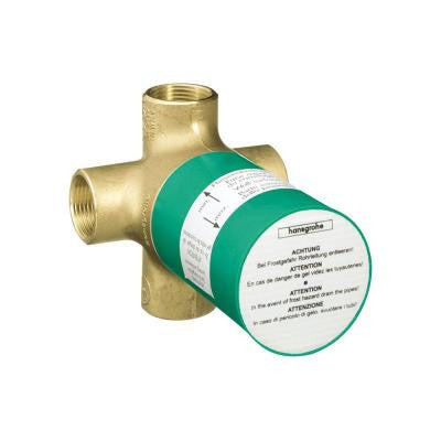 Quattro 3/4 in. Green 3-Way Diverter Rough