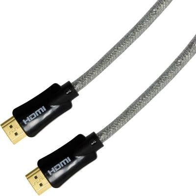 Ultra Pro 6 ft. Clear HDMI Cable with Ethernet