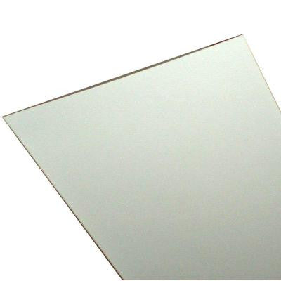 Embossed White 12 ft. x 1 ft. Lay-in Ceiling Panel