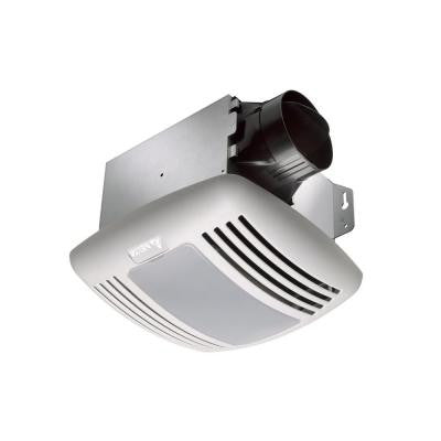 GreenBuilder 80 CFM Ceiling Exhaust Fan with Light, Humidity Sensor and Adjustable Speed Control