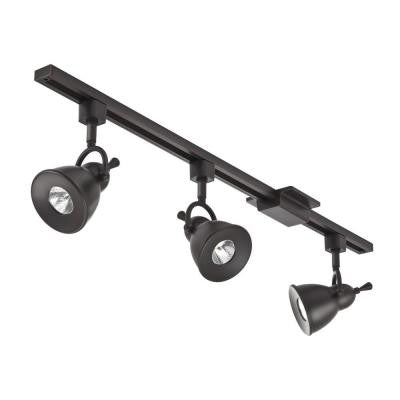 Bell 44.5 in. 3-Light Oil Rubbed Bronze Integrated LED Track Lighting Kit