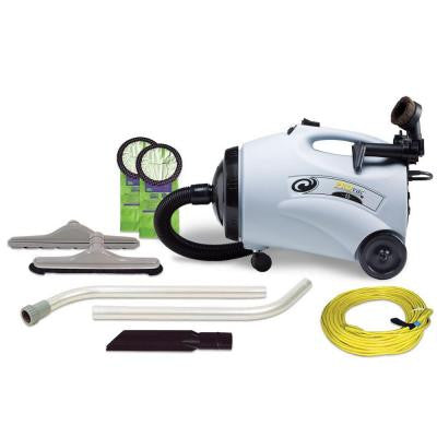 ProVac CN Canister Vacuum with Restaurant Kit and 56 in. Wand (2-Piece)