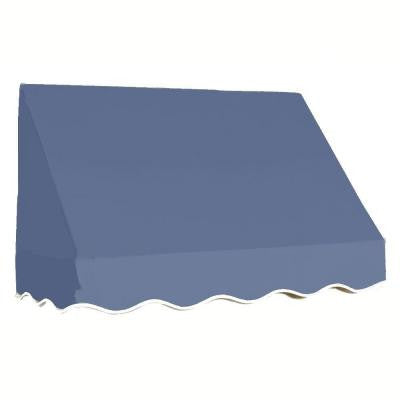 35 ft. San Francisco Window/Entry Awning (44 in. H x 48 in. D) in Dusty Blue