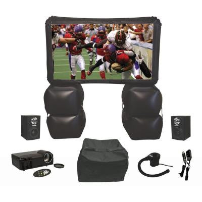 72 in. Inflatable Indoor/Outdoor Home Theater Kit