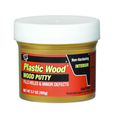 Plastic Wood 3.7 oz. Light Oak Wood Putty (6-Pack)