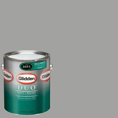 1-gal. #GLN59 Granite Grey Eggshell Interior Paint with Primer