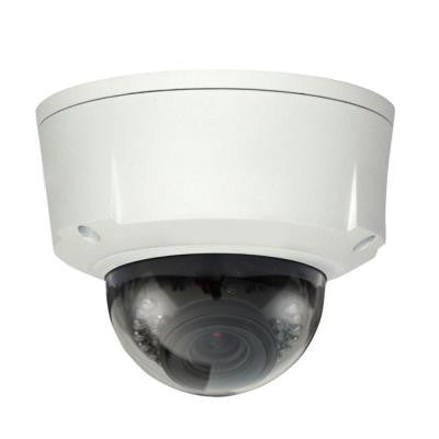 Wired 1.3 Megapixel Waterproof and Vandal-Proof IR Network Dome Indoor/Outdoor Camera