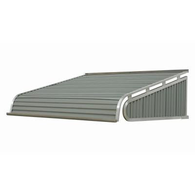 4 ft. 2100 Series Aluminum Door Canopy (16 in. H x 42 in. D) in Greystone